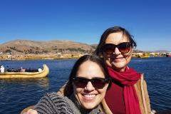 23 Lago Titicaca Martha e sobrinha